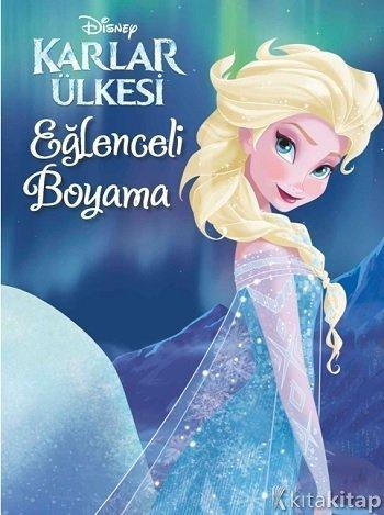Eğlenceli Boyama Disney Karlar ülkesi Kolektif Doğan Egmont