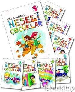 Neşeli çocuklar Okul öncesi Eğitim Seti 16 Kitap Berkay Dinç