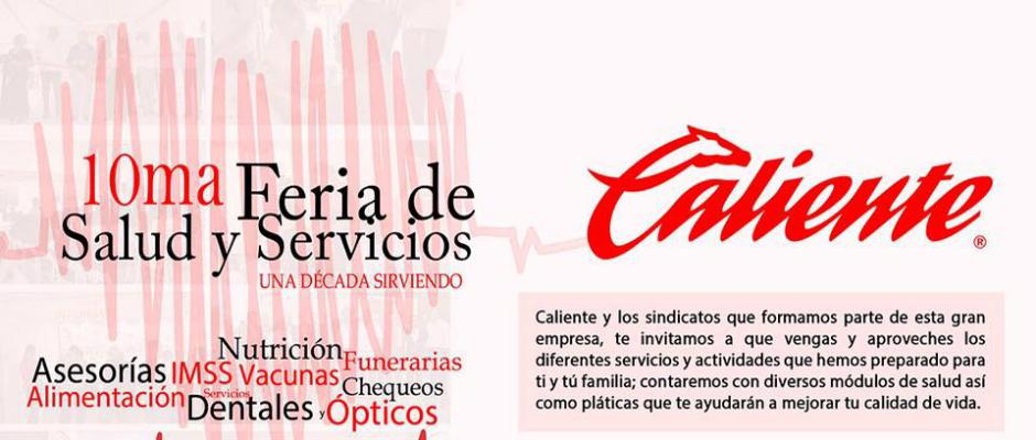 Caliente Invita A La 10ma Feria De Salud Y Servicios
