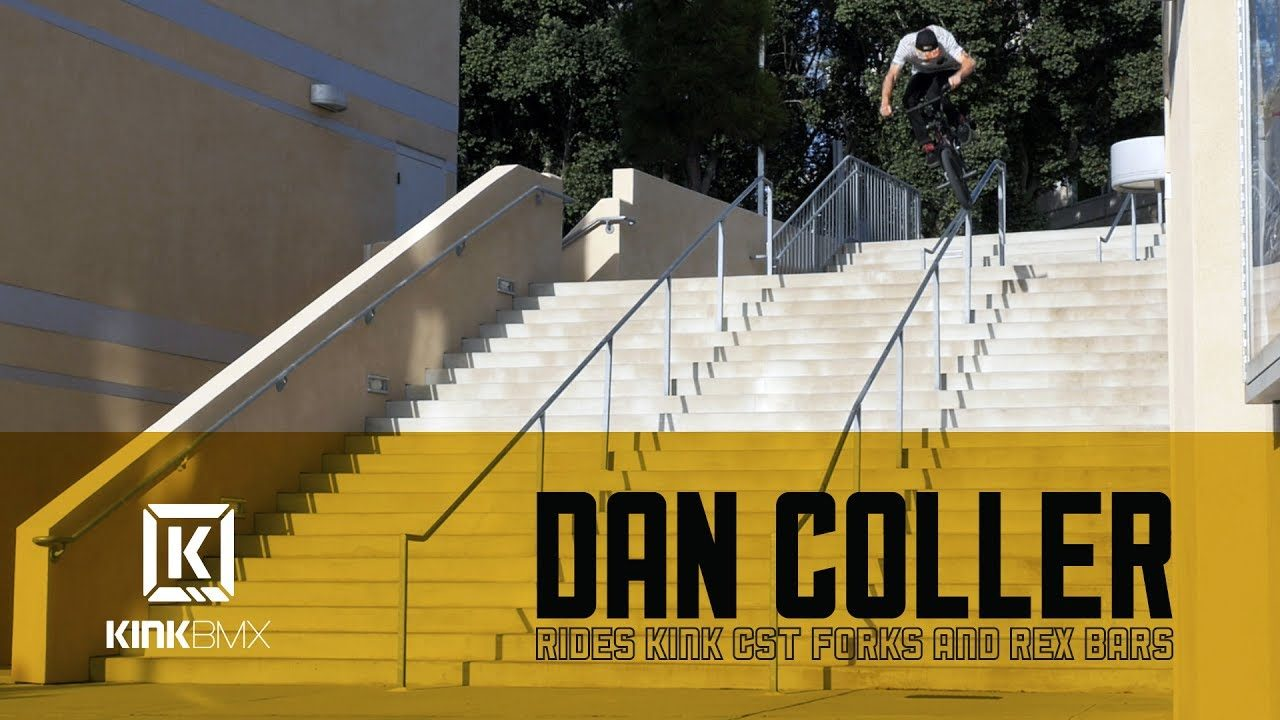 Dan Coller Rides CST Forks and Rex Bars! - Kink