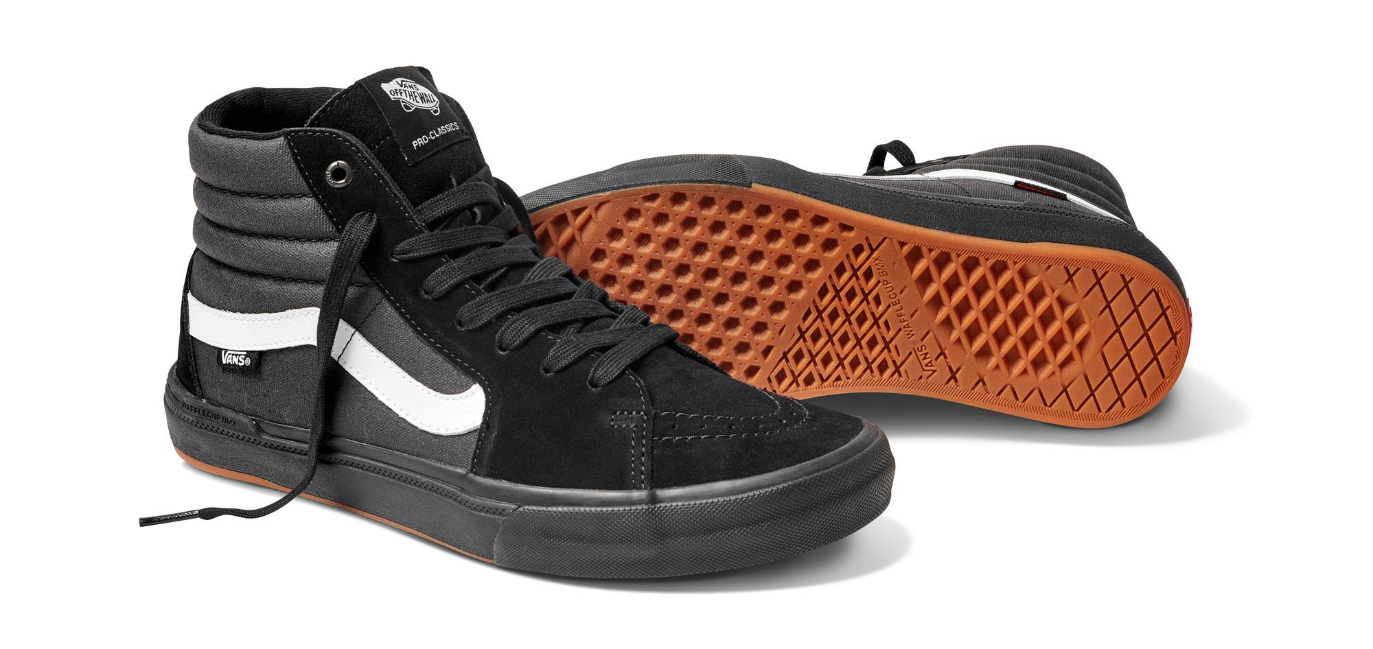 Sk8 Hi Pro BMX Shoes | Black | Vans