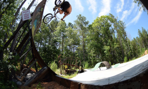Trey Jones over vert snake sesh- by crandall