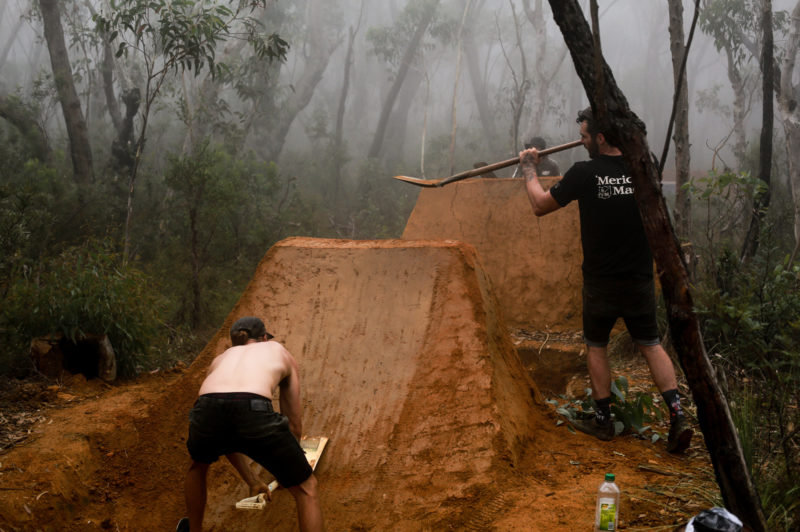 James Fox Gallery Team Blue Mountains Digging