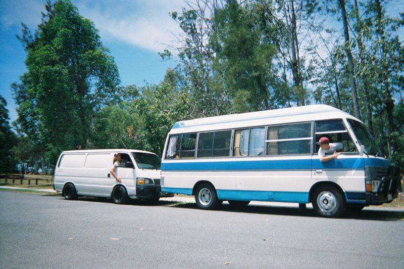 Kris Fox Big Blue  Van