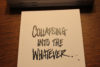 collapsing-the-whatever