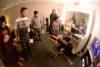 cult crew watching dehart backstage daily habit