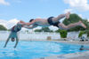 justin care pete sawyer BMX Merritt DD merritt swimming pool