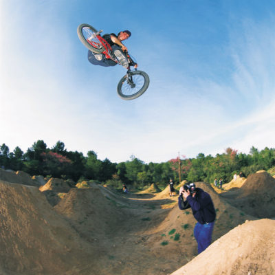 Chris Stauffer trails Grabel france 2001 d17 kc