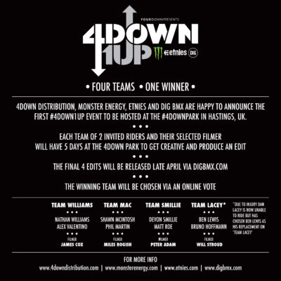 4Down 1Up info SQ