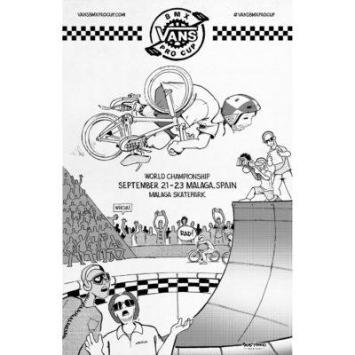 Bmx Pro Cup Posters Spain 970X1500