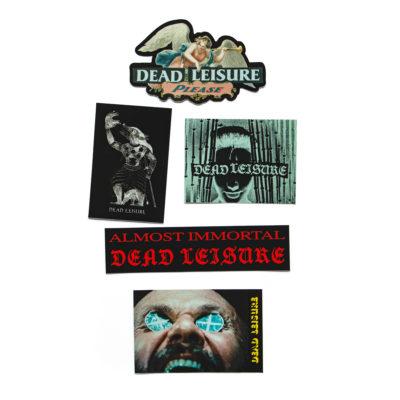Dead Leisure 21 Stickers 0127 1
