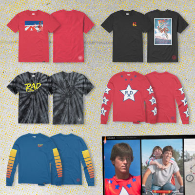 Et 21 Etnies X Rad Collection Shirts