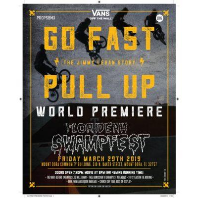 Go Fast Premiere Poster 1