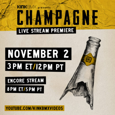 Champagne Livestream Info