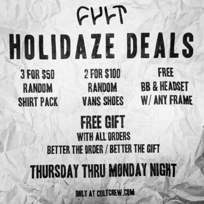 Holidaze Deal Insta