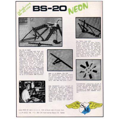 Sm Bikes Bs 20 Neon Ad