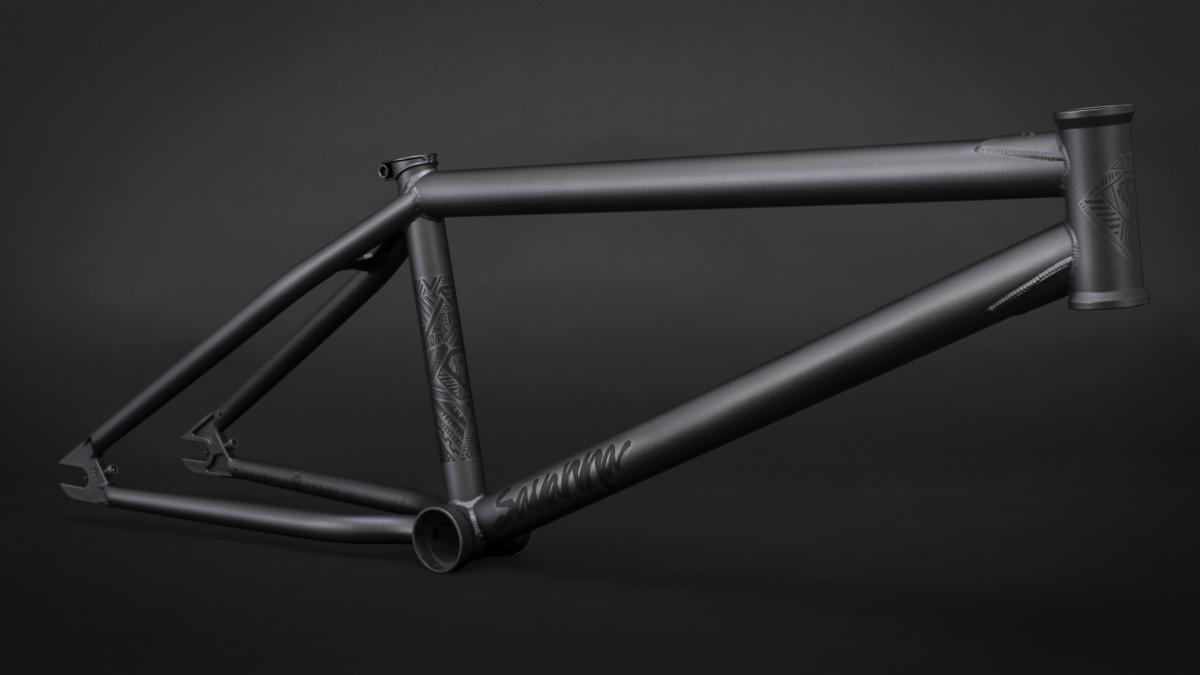 FLY BMX VOLCANO BICYCLE STEM BLACK 50mm Reach FLYBIKES