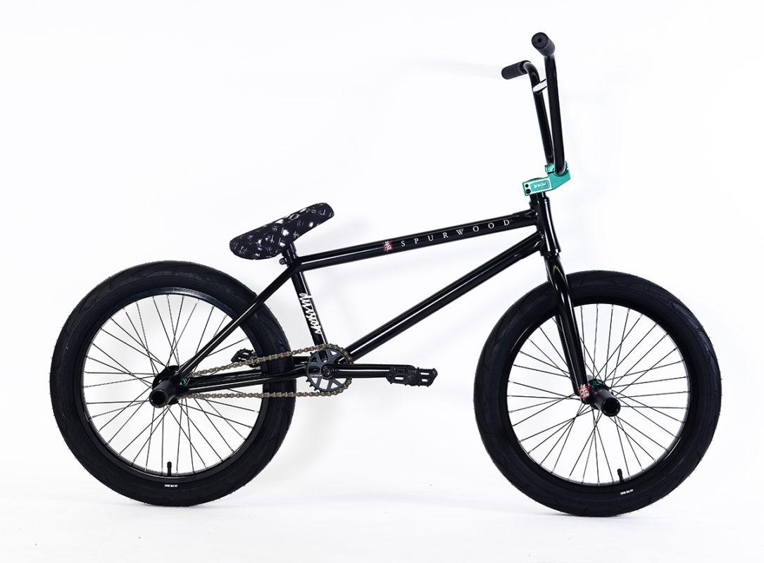 "KINK BIKES REX 2-PIECE 9.5/"" RISE BLACK BMX BICYCLE HANDLEBAR"