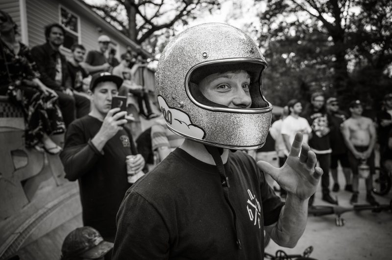Your 2019 Lost Bowl Highest Air champion and recipient of the world's coolest helmet, Brett Tocco.
