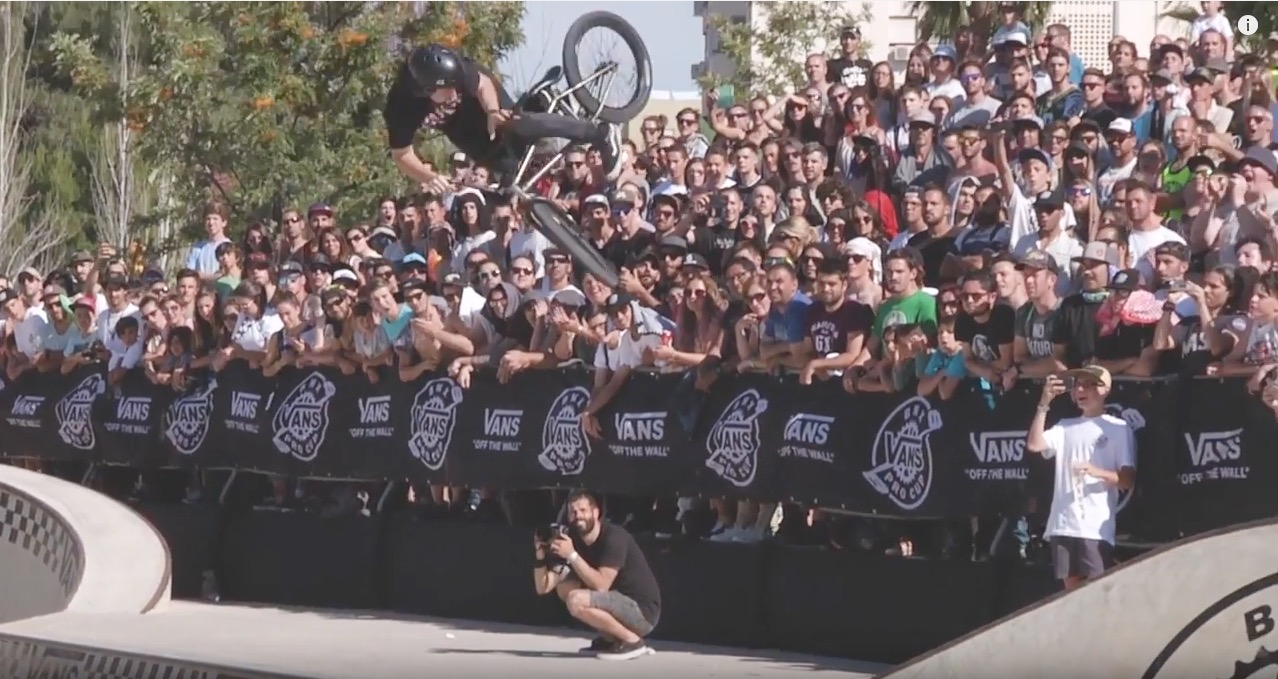 4e5cedc1c7 2017 Vans BMX Pro Cup Series- Corey Walsh - 2nd Place Run in Spain - DIG BMX