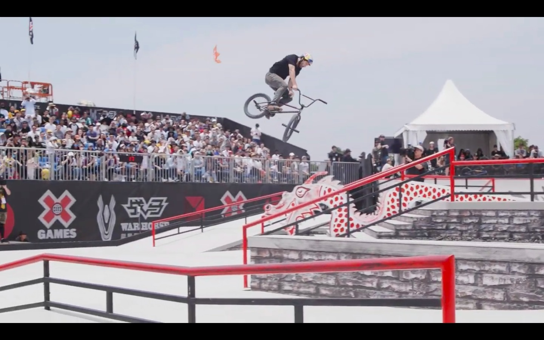 Garrett Reynold's X Games China Winning Run - DIG BMX