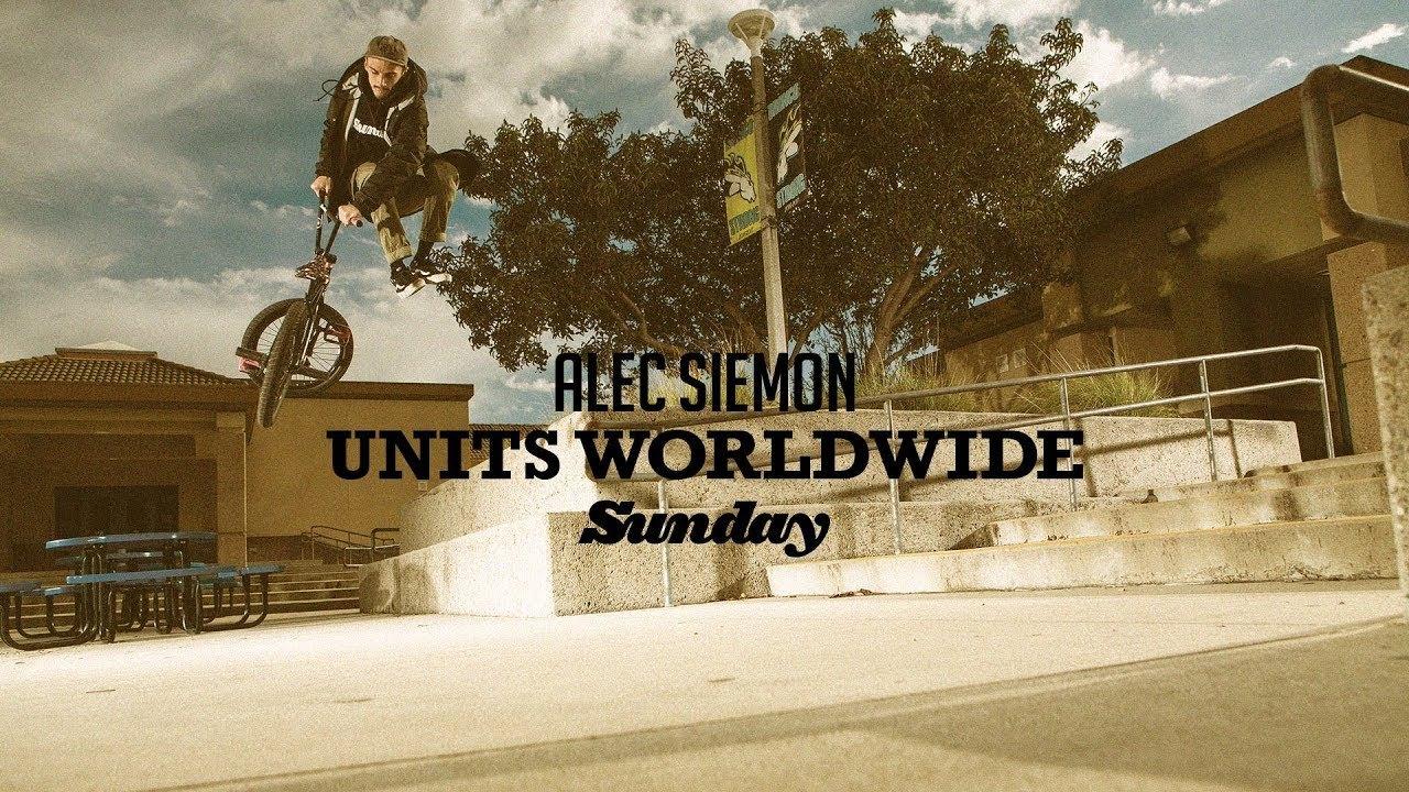 ALEC SIEMON - Sunday Bikes - Units Worldwide - DIG BMX
