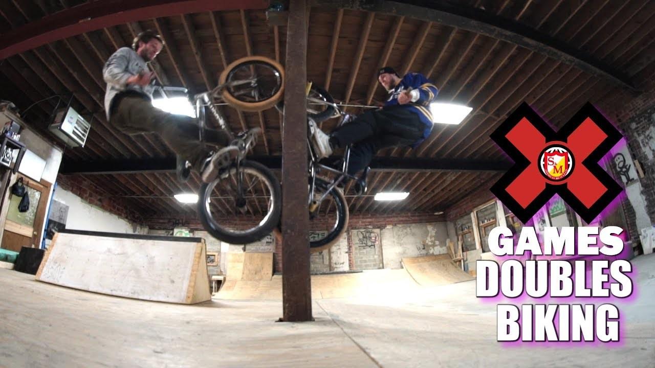 Charlie C and Badmatty - X Games Park Doubles - DIG BMX