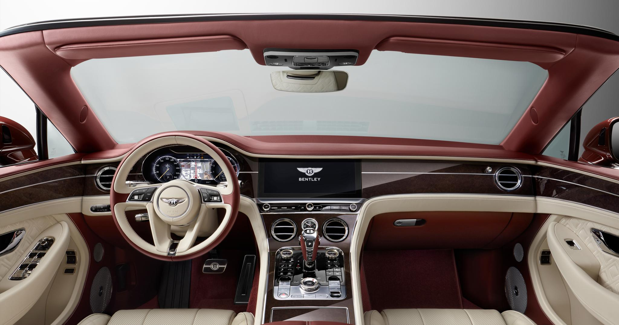 interieur bentley