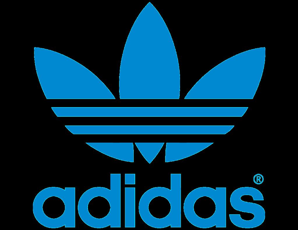 Logo_Adidas_Marque_aux_3_bandes_bleu_Stratégie_marketing_adidas_marketing_etudiant_concurrence