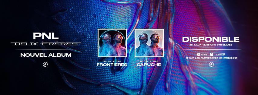 Photo de couverture sortie de l'album PNL Deux frères