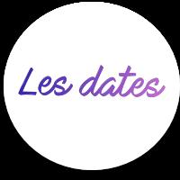 Dates des �preuves