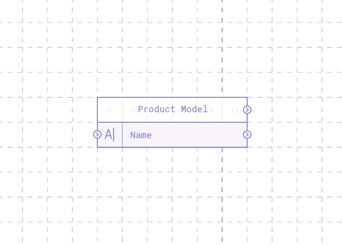 Breadboard with input text attached