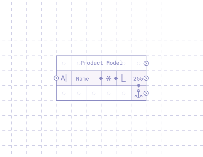 Breadboard with modified input text output