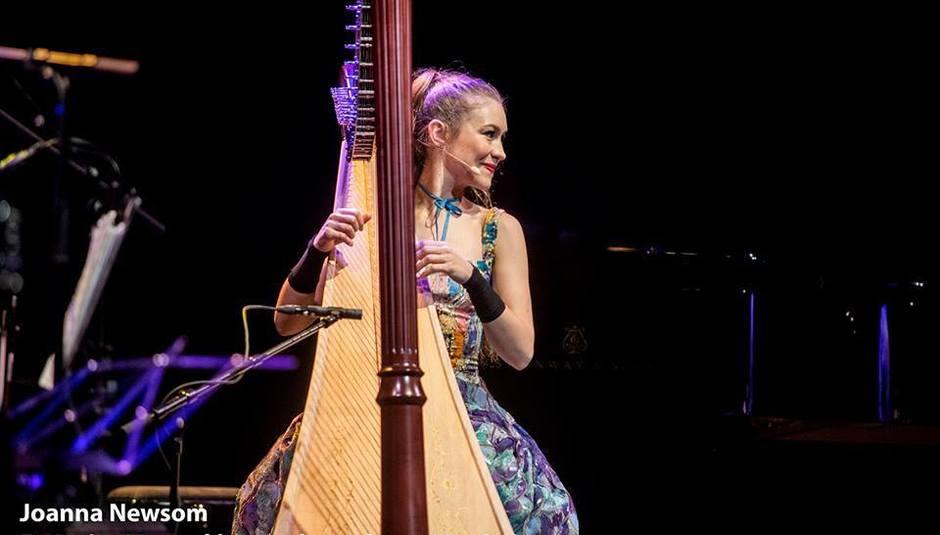Folk Harp Song Joanna Newsom Live At Barts Barcelona In Depth