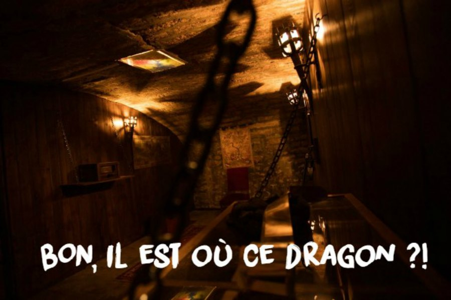 "CityCrunch Montpellier tested our room ""Dragon Slayer"""