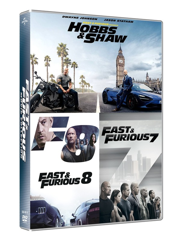 Fast & Furious: Hobbs And Shaw Collection (Box 3 Dv) (Ff7+Ff8+H&S)