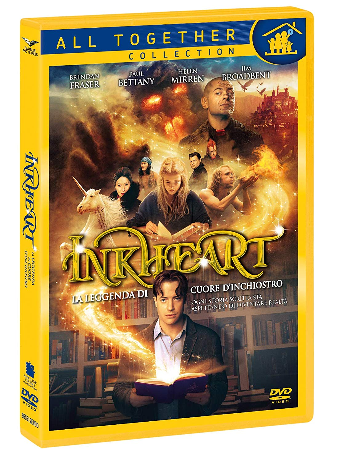 100806-Inkheart-La-Leggenda-Di-Cuore-D-039-Inchiostro-039-039-All-Together-039-039-DVD-x-1-I