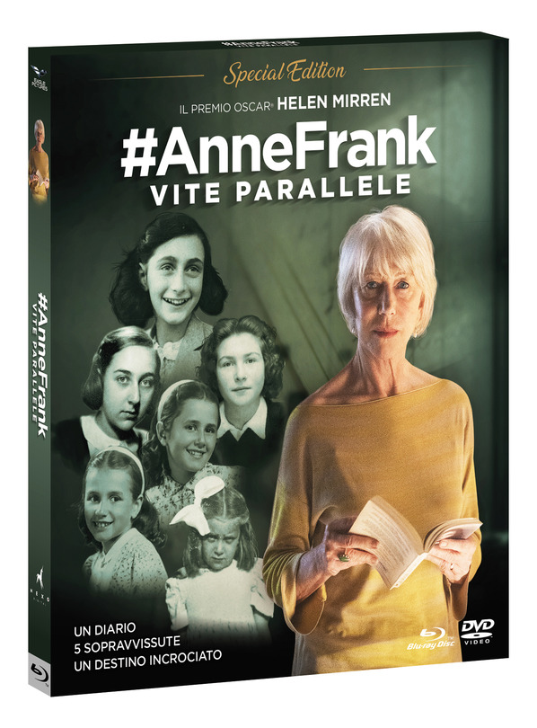 #Anne Frank. Vite Parallele (Spec.Ed.+Booklet Combo (Br+Dv)