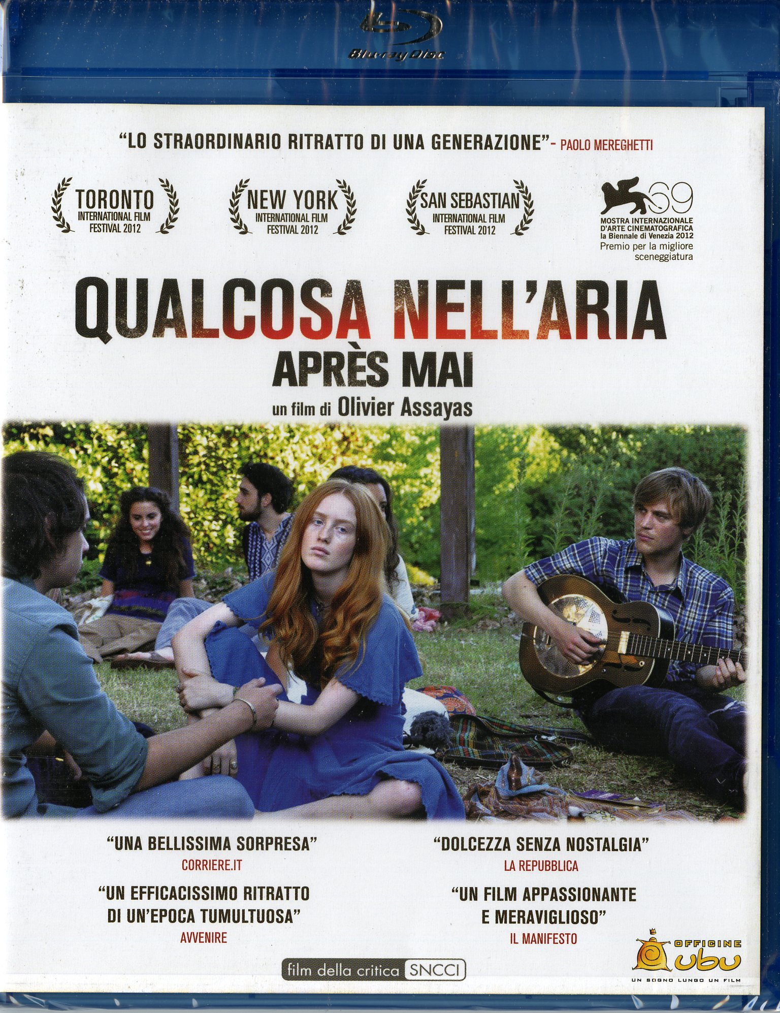 111427-Qualcosa-Nell-039-Aria-Blu-Ray-x-1-Nuevo-Importacion-italiana