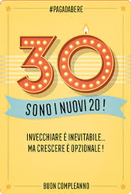 Auguri Di Buon Compleanno 30.Auguri Di Compleanno 30 Years 11 5x17