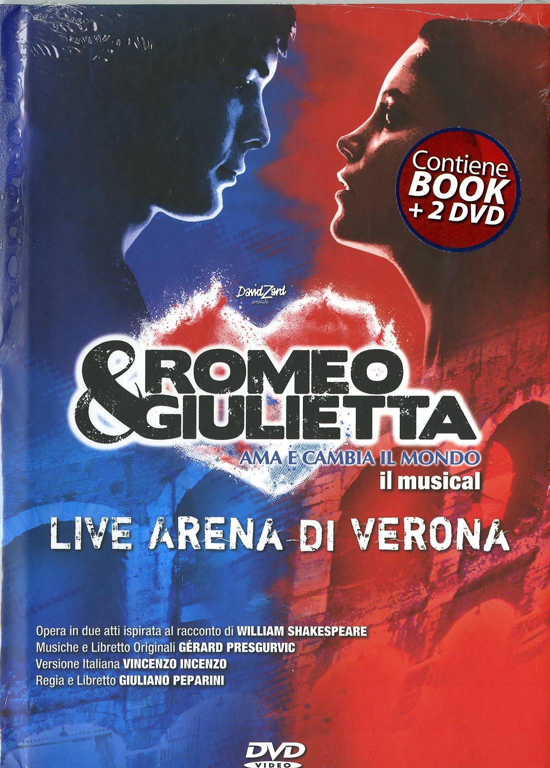 Ama E Cambia Il Mondo Live Arena Di Verona (Book + 2Dvd)