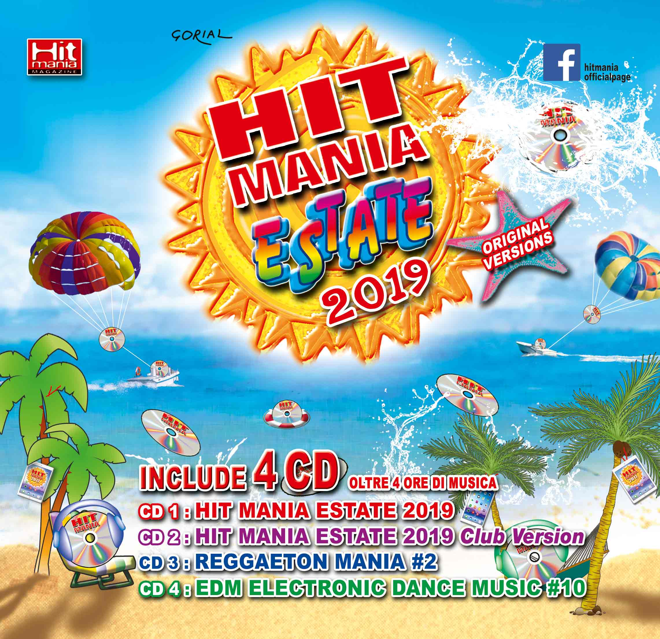Hit Mania Estate 2019 (Box 4 Cd