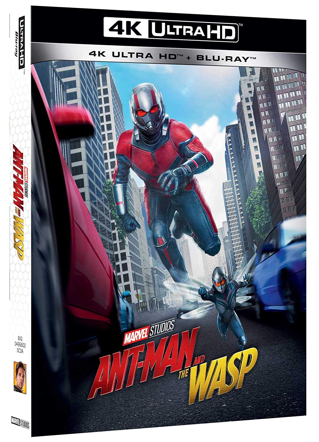 Ant-Man And The Wasp (4K+Br)