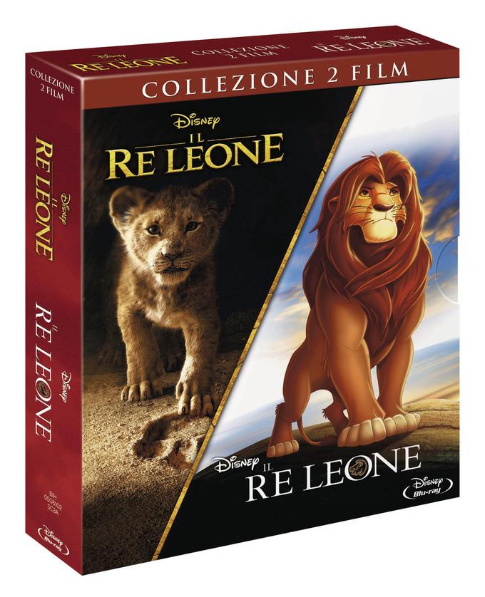 Il Re Leone (Live Action)+ Il Re Leone (Cart.Anim.)(Box 2 Br)
