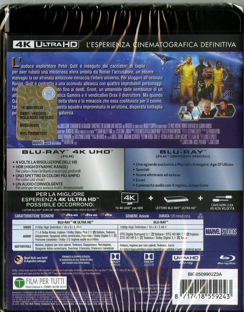 Guardiani Della Galassia (4K+Br)