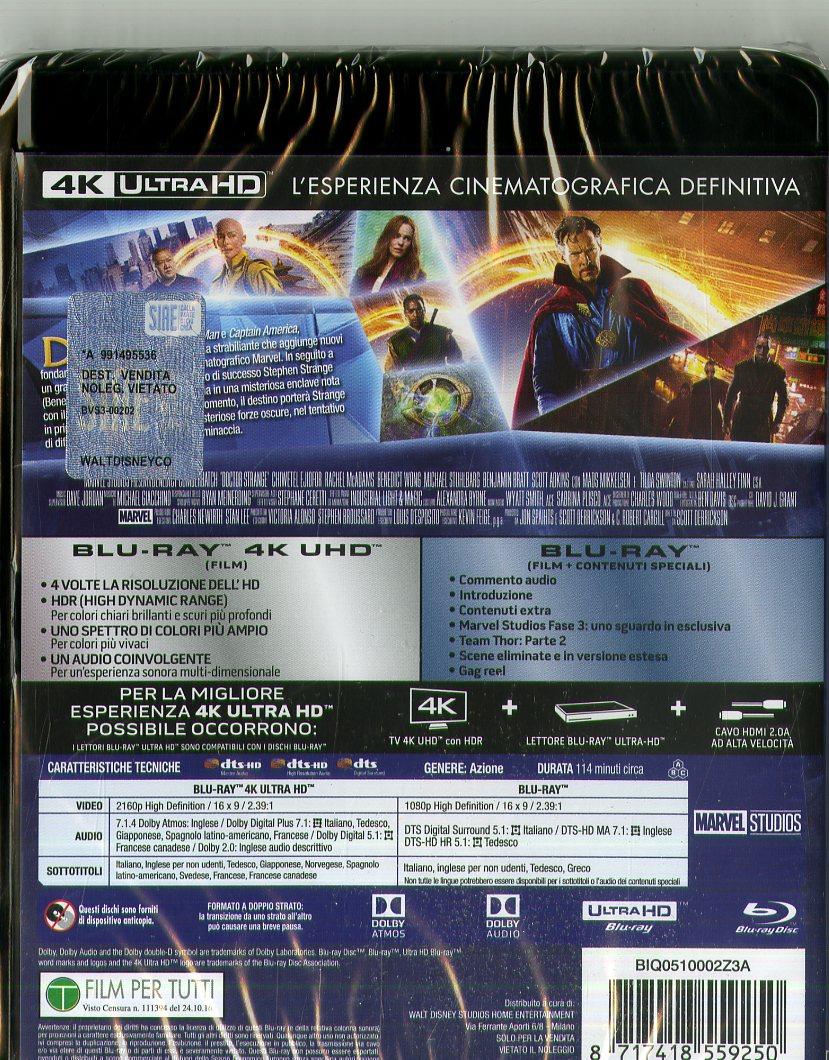 Uhd Doctor Strange (4K+Br)
