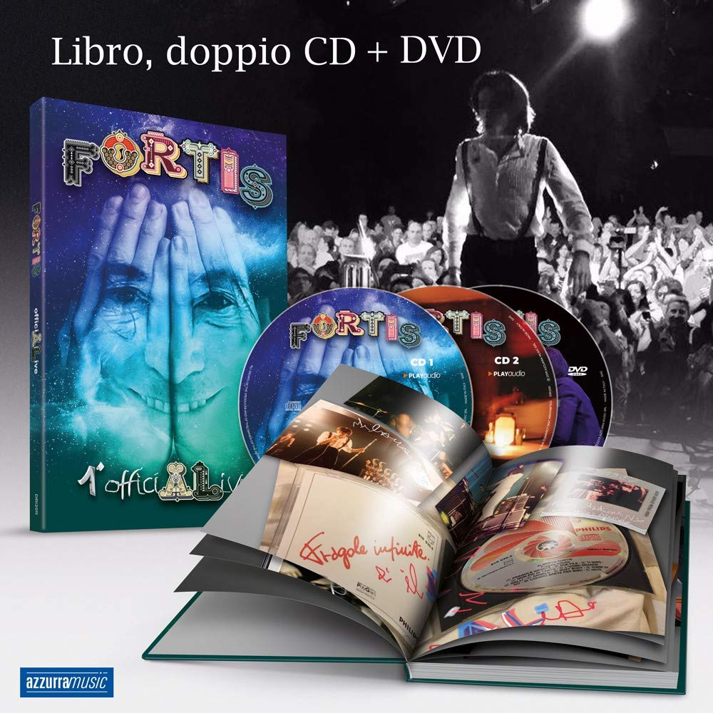 Live Milano 2019 (Box 2Cd + Dvd + Libro 65 Pagine)
