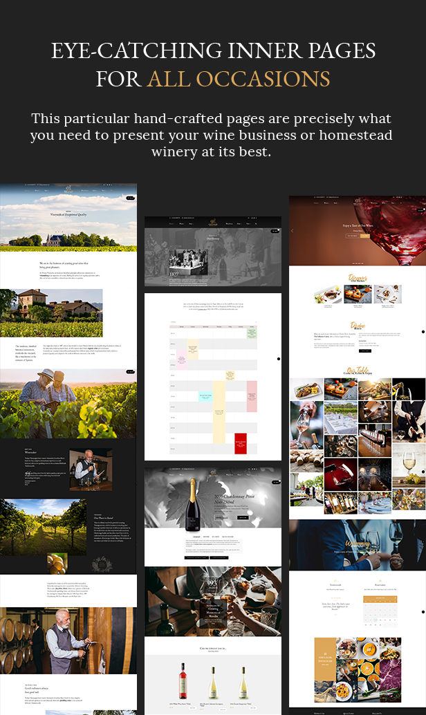 Diwine - Winery & Wine Shop, Vineyard WordPress Theme - 6