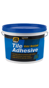 702 Water Resistant Tile Adhesive