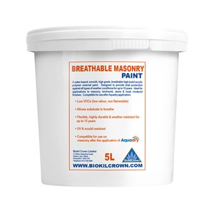 Breathable Masonry Paint
